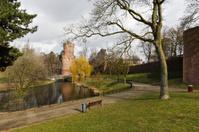 """""""Kronenburgerpark"""" downtown Nijmegen, the Netherlands with medie"""