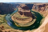 Horseshoe Bend on Colorado river