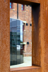 Old and new architecture, Gloucester Docks, UK
