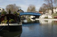 Bridge over Little Venice, Paddington, London