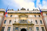 Prague Palace Entrance Gate, Czech Republic