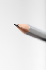 macro shot of a grey pencil