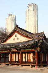Korean apartment buildings