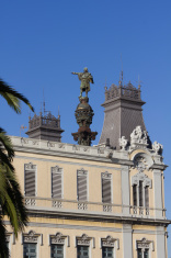 Barcelona. Columbus column