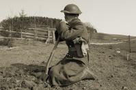 ww2 Resting Soldier.