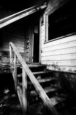 Abandoned House Back Porch