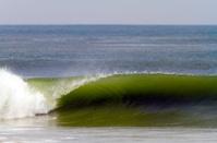 Gabon, Mayumba, ocean waves.