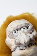 Clay head - crazy