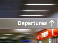 info signage departures