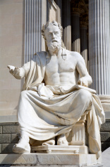 Vienna - xenophanes statue for parliament