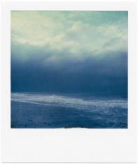 Polaroid seascape - storm at sea