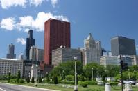 Chicago Grant Park Cityscape