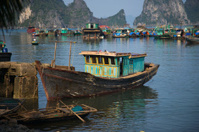 Fishing port Cai Rong, Vietnam