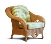 wattled armchair