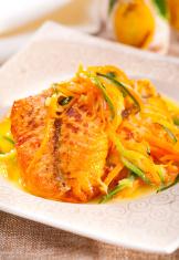 Salmon with veggie