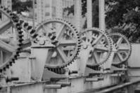 Old Iron Barrage - B&W