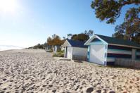 Rosebud, Beach huts