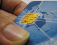 ATM card's microchip