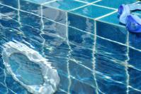 Pool light underwater