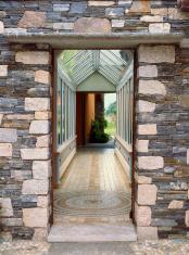 House exterior entrance