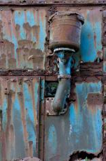 rusty metal on vehicle