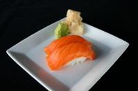 Salmon Nigiri Sushi Plate