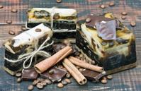 handmade soaps chocolate