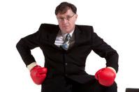 Buisness man fighter