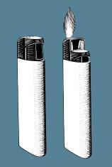Lighter - Bic Style