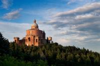 Bologna: San Luca Sanctuary at sunset