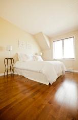 Bedroom in natural light