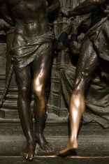 Christ's legs