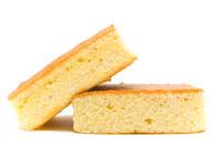 Cornbread stacked