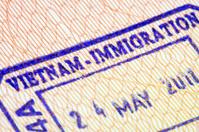 Vietnam Immigration stamp in passport