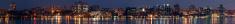 Urban Skyline at Night