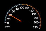 Speedometer 40 kmh