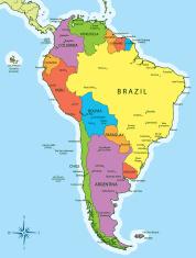 Karte Von Kolumbien Stockfotos Freeimages Com
