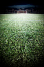 Soccer Field at Night, Floodlights