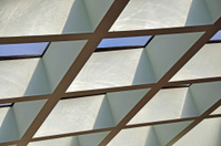 Roof Beams and Skylight