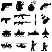 Military Icons - Black Series