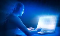 Human & Laptop