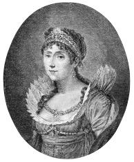 Empress Josephine, the wife of Napoleon I