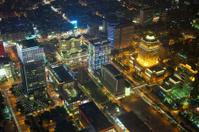 Illuminated Taipei city night skyline  (Republic of China)  Taiw