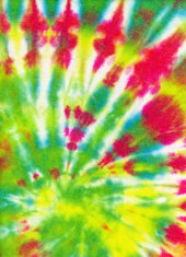 Multi-Colored Tie Dye Background Pattern or Texture