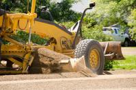 Road Grader at Work