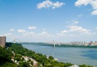 George Washington Bridge and Manhattan viewed from Fort Lee, NJ