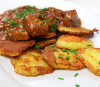 Fried Potato Dumplings