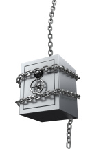 Chained safe