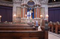 Inside Frederick's Marble Church