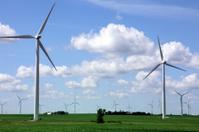 Wind Turbines on Farmland